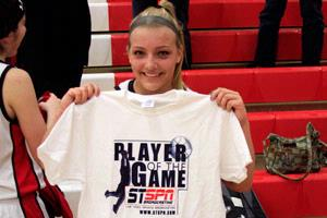Callie Harwood Player-of-the-Game