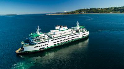 Newest state ferry begins carrying customers