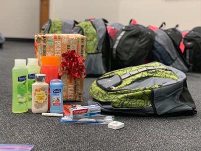 Backpacks Delivered to Homeless Youth