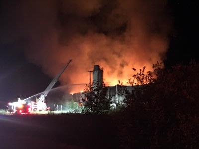 Firefighters battle early morning fire