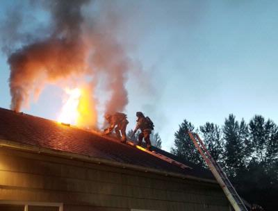 2 Alarm Fire in North Everett