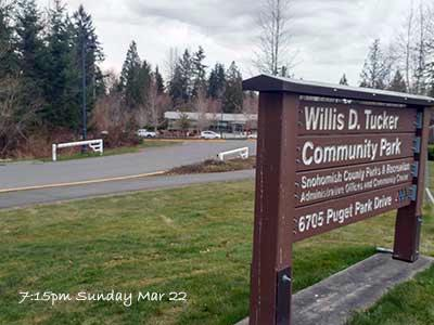 Snohomish County to Close Park Gates